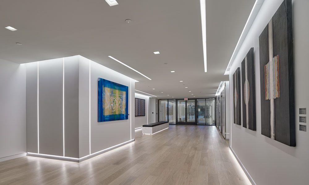 650 Swedesford Road interior modern lobby entry view