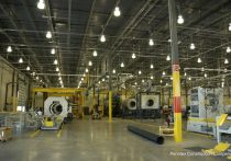 Advanced Drainage Systems interior manufacturing floor view