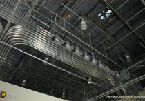 Advanced Drainage Systems interior ceiling view