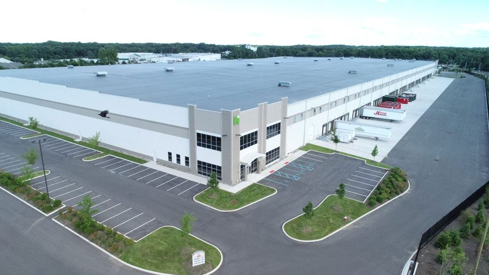 First Florence Distribution Center Aerial Exterior