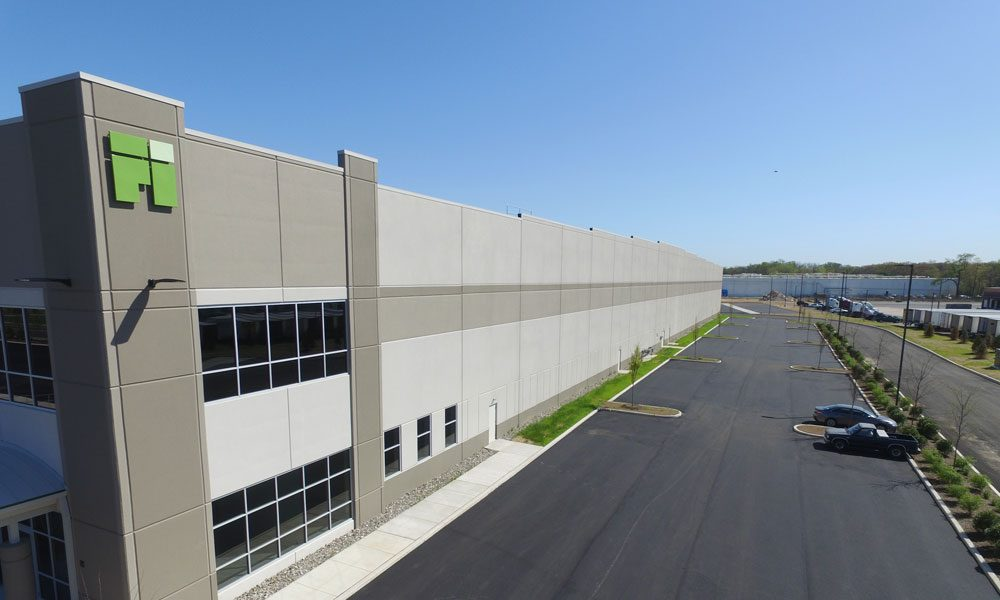 First Florence Distribution Center warehouse entrance side view