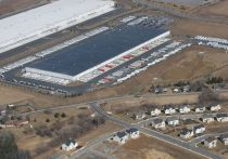 Boulder Business Center Home Depot Warehouse Aerial
