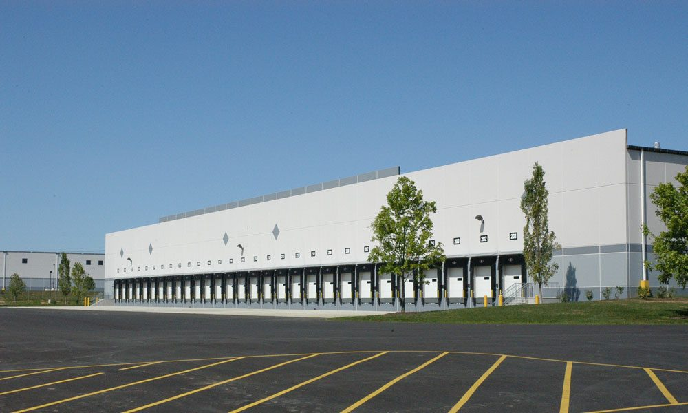 Home Depot Warehouse Loading Dock Exterior