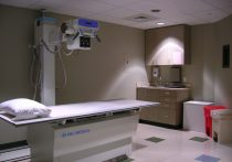 Interior of a healthcare examination room
