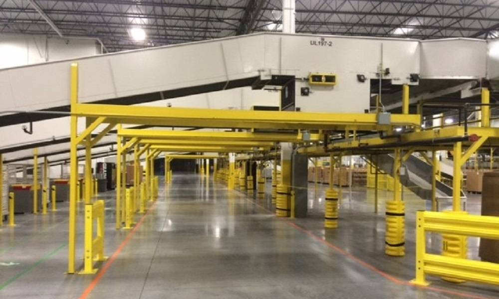 Amazon NJ Fulfillment Center in NJ Interior Conveyor Systems