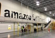 Amazon NJ Fulfillment Center Interior