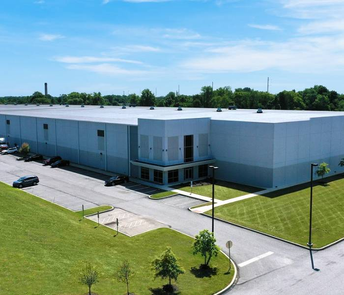 103 Commerce Warehouse Exterior Aerial View